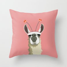 Llove You Throw Pillow