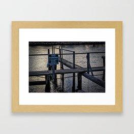 Boats Only Framed Art Print
