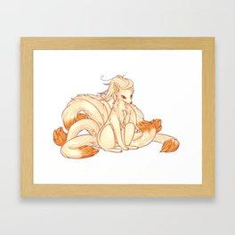 Ninetails Framed Art Print
