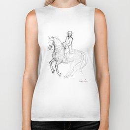 Horse (Canter Pirouette) Biker Tank