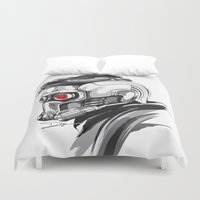 star lord Duvet Covers featuring Star Lord by Dik Low