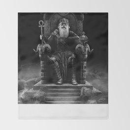 IV. The Emperor (Version III) Throw Blanket