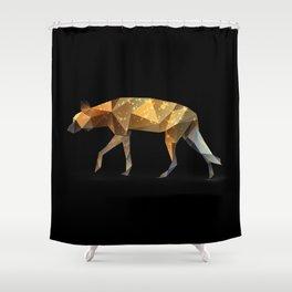Wild African Dog. Shower Curtain