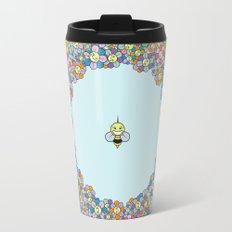 FLOWER POWER BEE Travel Mug