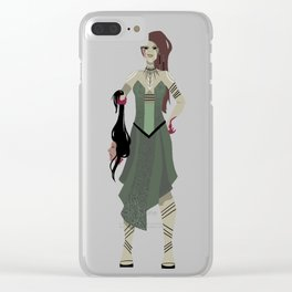 soulless #7 Clear iPhone Case