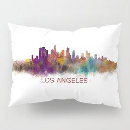 Los Angeles City Skyline HQ v2 Pillow Sham