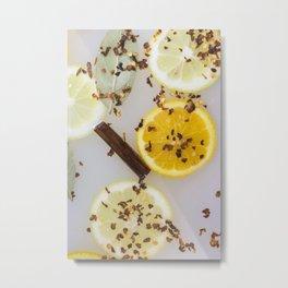 Spicy Lemon Metal Print