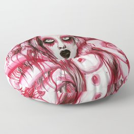 Strawberry Mother Earth Floor Pillow