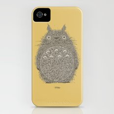 Yellow Totoro iPhone (4, 4s) Slim Case