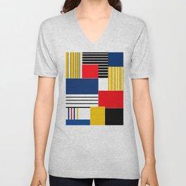 Abstract pattern . Credo . Unisex V-Neck