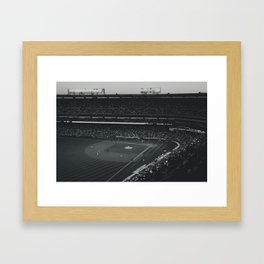 Take Me Out To The Ballgame Framed Art Print