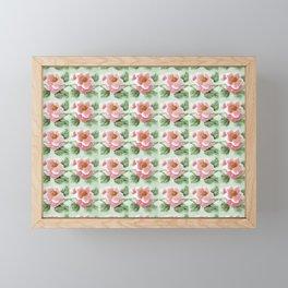 Floor Series: Peranakan Tiles 28 Framed Mini Art Print