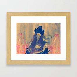 Dormant God 2 Framed Art Print