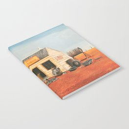 The Outback Petrol Station Notebook
