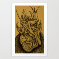 Nice Demon Art Print
