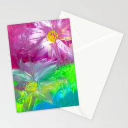 An uncertain balance Stationery Cards