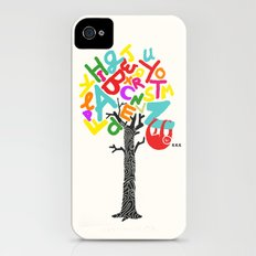 Sleep All Day (A-Z) iPhone (4, 4s) Slim Case