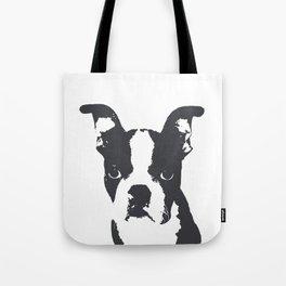 Boston Terrier Pop Art Tote Bag
