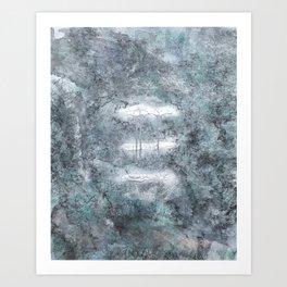 Three Strikes Art Print