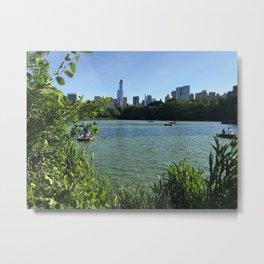Central Park Summerscapes Metal Print