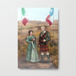 I'll Go to Texas - The Revolution Years Metal Print