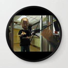 Louis CK Caricature Wall Clock