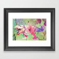 COLOUR ME DANGEROUS. Framed Art Print