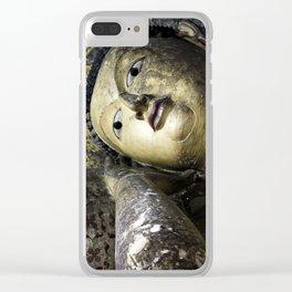 Buddha II Clear iPhone Case