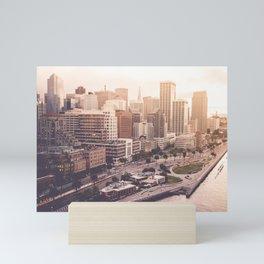 San Franciso Financial District Mini Art Print
