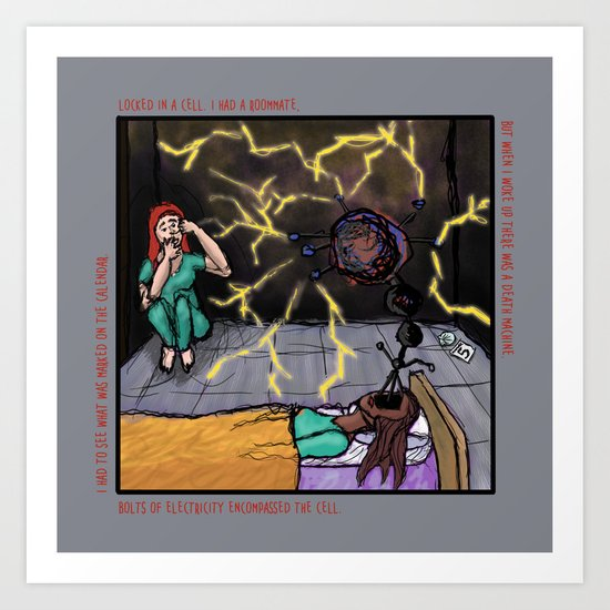Electric Cellmate Art Print