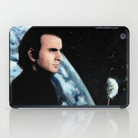 sagan iPad Cases featuring He Spoke for Earth by Kira Carina Bird