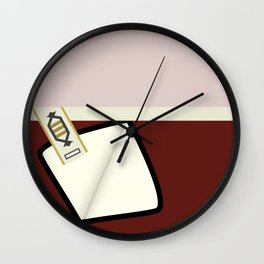 Kirk - TMP -Open - Minimalist Star Trek TMP - James T Kirk - startrek trektangles Wrath of Khan 1701 Wall Clock