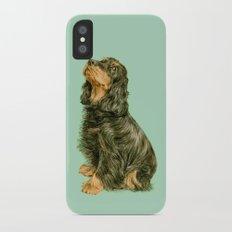 Spaniel iPhone X Slim Case