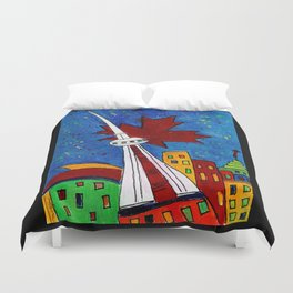 La Tour CN Duvet Cover