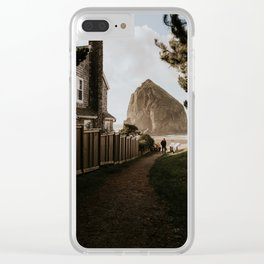 Cozy Cannon Beach, Oregon Clear iPhone Case