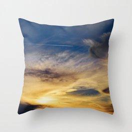 Sunset Trail Throw Pillow