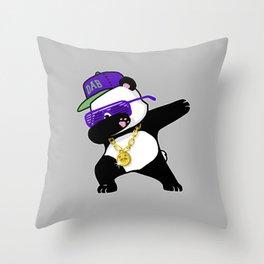 Dabbing Panda Throw Pillow