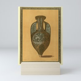 Vintage Print - Design from the Alhambra, Andalusia (1836) - A Jar in the Casa Real Mini Art Print