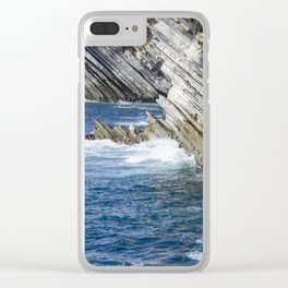 Million-Year Sculptures Clear iPhone Case