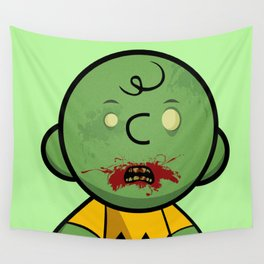 Zombie Charlie Brown Wall Tapestry