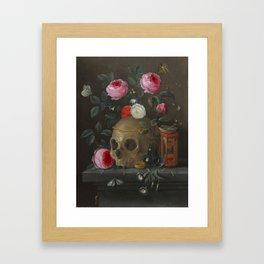 Jan van Kessel Vanitas Still Life Framed Art Print