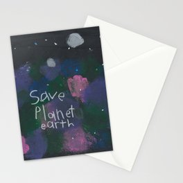 Save Planet Earth Stationery Cards