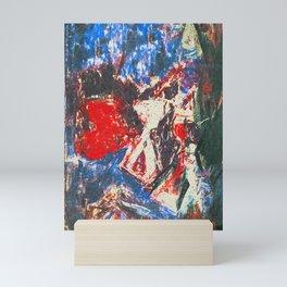 女性着物着て (woman wearing kimono) Mini Art Print