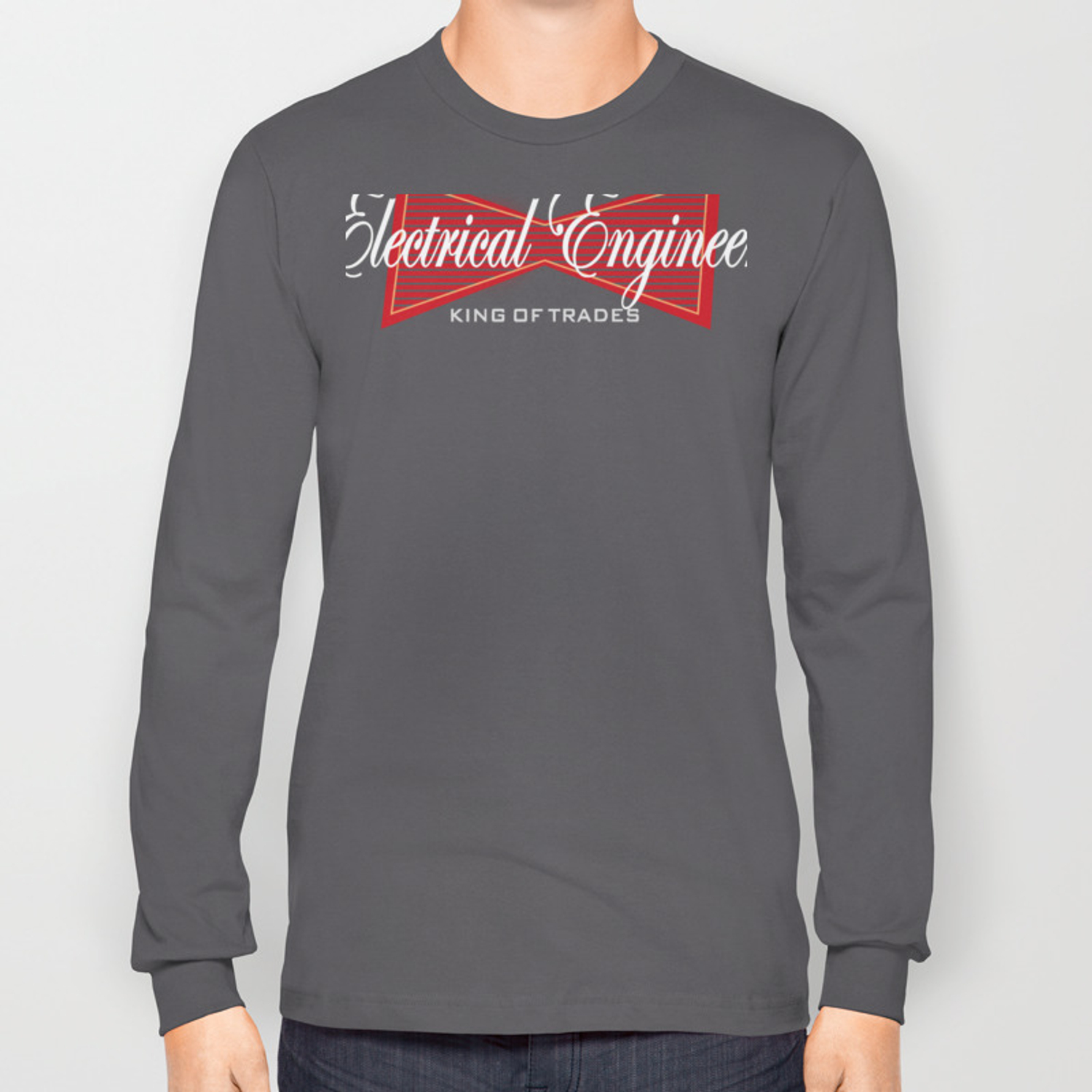 4d1fce00 Funny Electrical Engineer Engineering Long Sleeve T-shirt by kayelex |  Society6