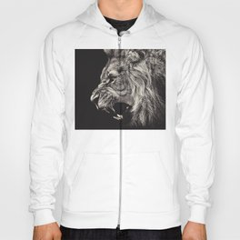 Angry Male Lion Hoody