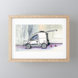 Little Van Framed Mini Art Print