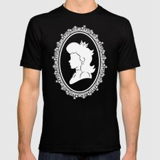 The Princess  MEDIUM Black Mens Fitted Tee