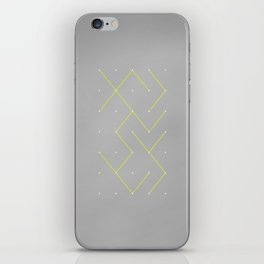 Connecting the Dots iPhone Skin