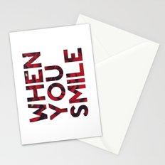 I Smile... Stationery Cards