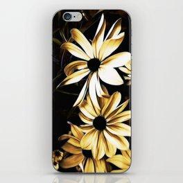 White Florals iPhone Skin